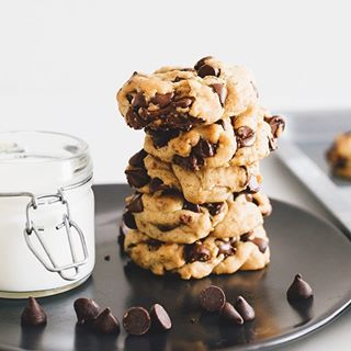 Small batch vegan Chocolate Chip cookies