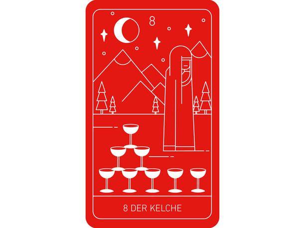 Acht Kelche Astrowoche Tarot Tarot Lesen Und Tarot Karten