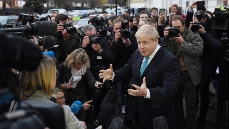 EU referendum: Time to vote for real change, says Boris Johnson - BBC News