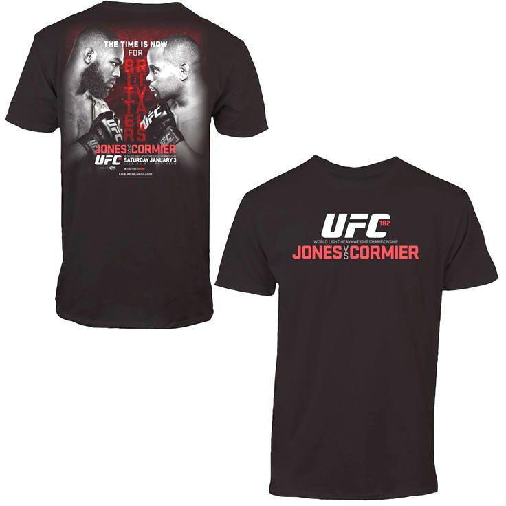 Jones vs. Cormier UFC 182 Event T-Shirt - Black - $9.49