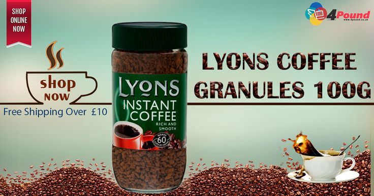 Order Lyons Coffee Granules 100g Only at #4pound store.Get 50% Discount