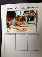 Use pictures to work on making inferences. This is a great resource to get the students thinking! Fabulous in Fourth!