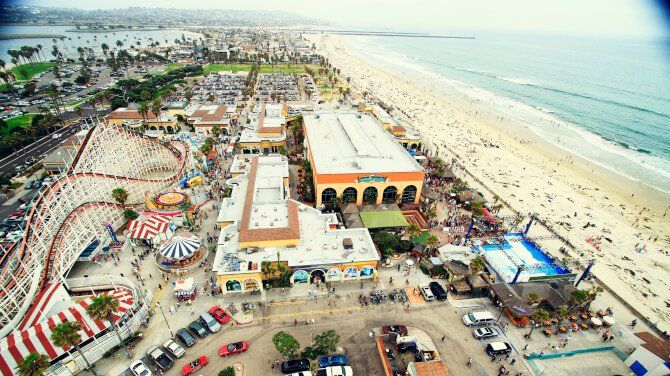 Top 20 things to do in San Diego: Mission Beach and Pacific Beach