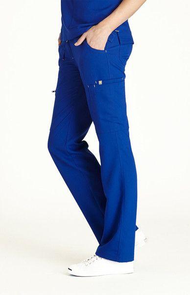 Women's Torbeck Cargo Scrub Pants-Royal Blue