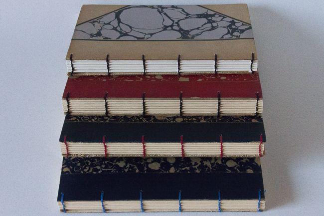 Boeken voor schrijvers, kunstenaars, denkers en dromers. Boekjes die je uitstekend kan gebruiken als notitieboek, persoonlijk dagboek, foto- of schetsboek.