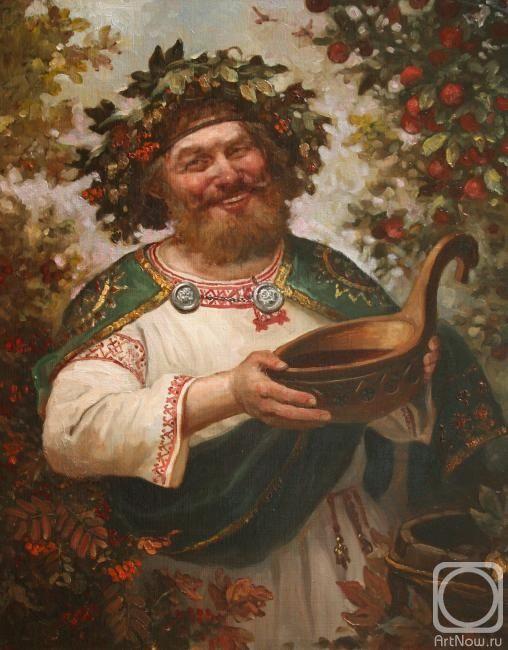 Шишкин Андрей. Квасура ( древнеславянский Бог веселья и урожая)