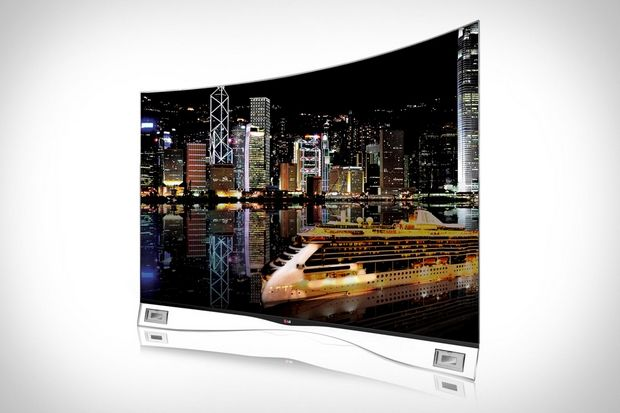 55-inch LG Curved OLED TV