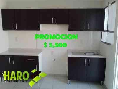 Cocinas integrales HARO 2.40 Lineal PROMO  en Guadalajara y Zona Metro, vista previa