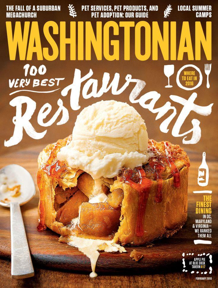 February 2016: 100 Very Best Restaurants | Washingtonian