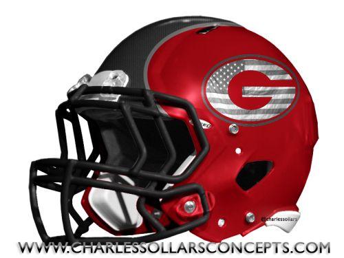 Georgia Bulldogs concept helmet. Sweet!
