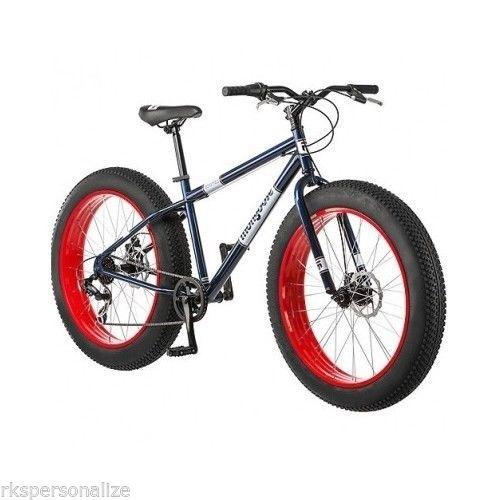 "Fat Tire Mountain Bike 26"" Men's Sand Beach Cruiser Bicycle New All Terrain BMX  http://www.RaymondShi.com"