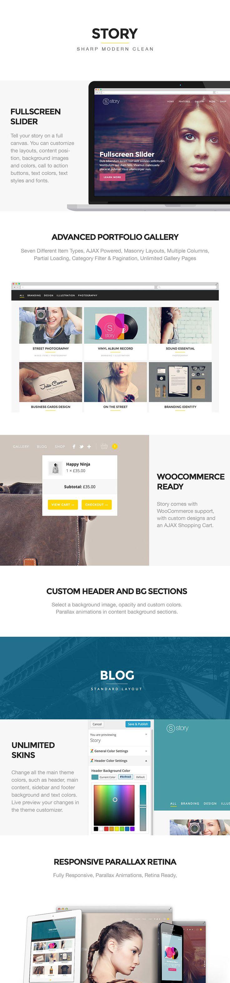WordPress - Story - Creative Responsive Multi-Purpose Theme | ThemeForest