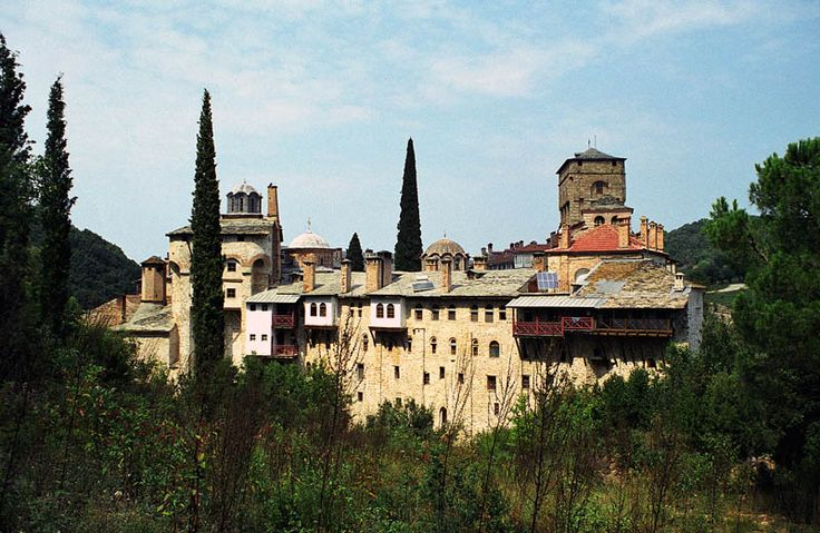 TRAVEL'IN GREECE I Mount #Athos: The Monastery of #Chilandariou