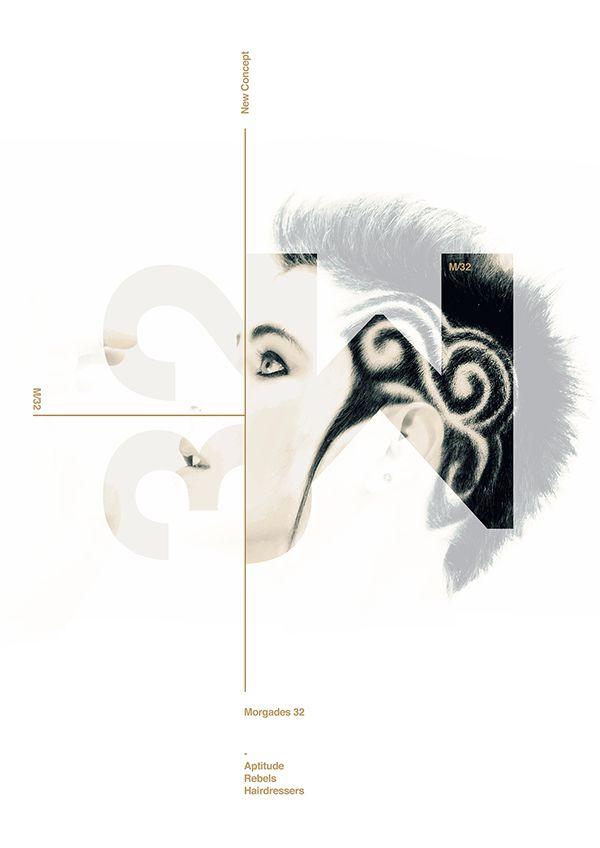 Poster M32 Hairdresser by Xavier Esclusa on Behance