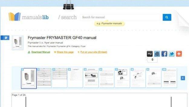 ManualsLib | 33 Amazingly Useful Websites You Never Knew Existed