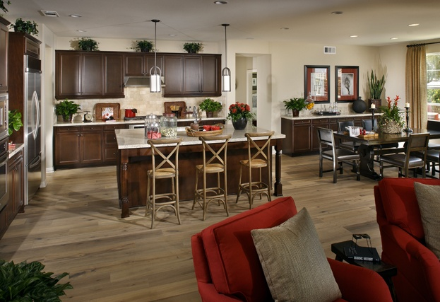 Delightful Kitchen By Standard Pacific Homes Location