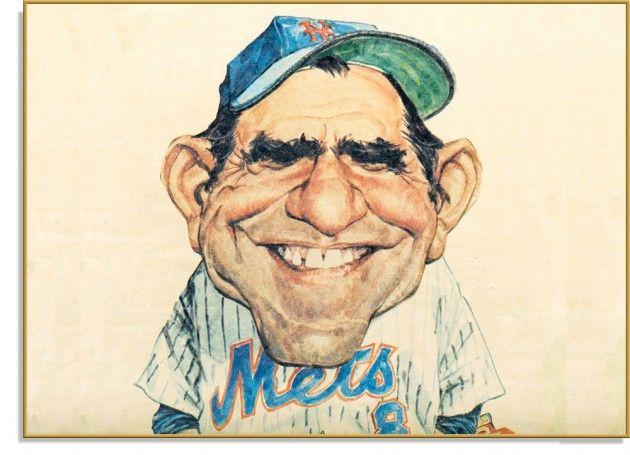 Yogi Berra - The Hall of Fame catcher played on 10 World Series championship teams.