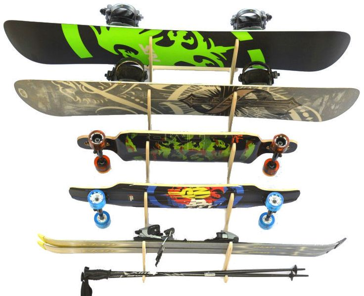 37 Best Images About Ski Storage On Pinterest Wall Racks