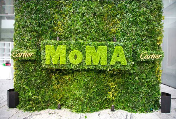 MOMA Party in the Garden  http://cantcooksowhat.com/2014/05/13/moma-party-in-the-garden/