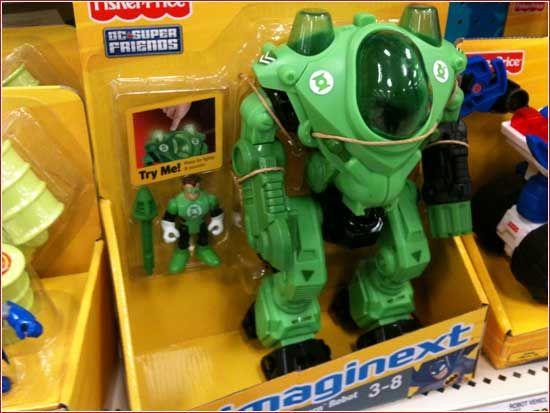 Oh yeah, Green Lantern Imaginext toys! - fourhman.com