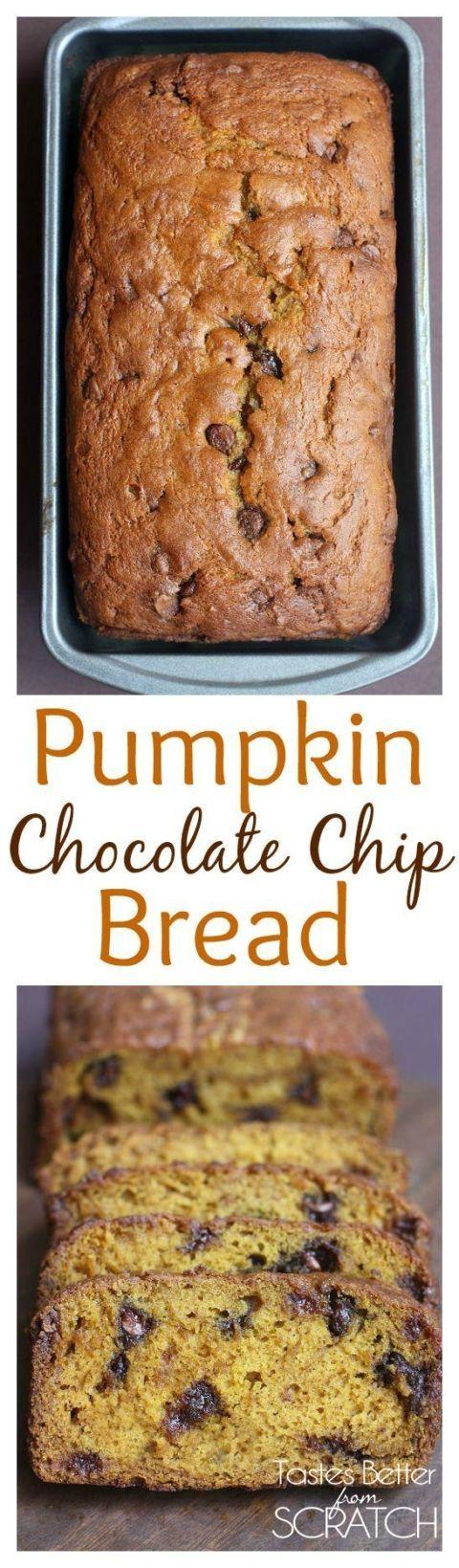 The BEST Pumpkin Bread recipe EVER!! Recipe on http://TastesBetterFromScratch.com