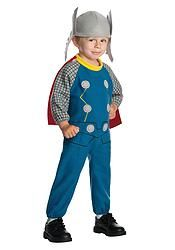 TODDLER THOR JUMPSUIT COSTUME OUTFIT