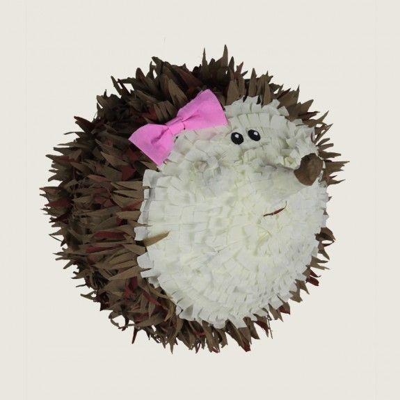 Piniata, pinata Jeż Piniata, hedgehog,  urodziny, party, garden party, przyjęcie, niespodzianka z cukierkami, prezent, gift, dzieci, dziecko fun