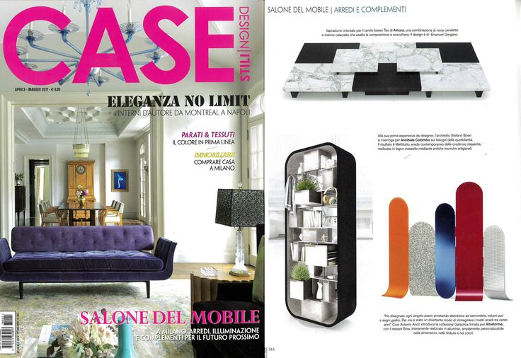 #Bow screen, #Galactica collection, design by #AntonioAricò for #altreforme, published on CASE & STILI #Italy, april 2017, #interior #home #decor #homedecor #furniture #aluminium #woweffect #madeinItaly