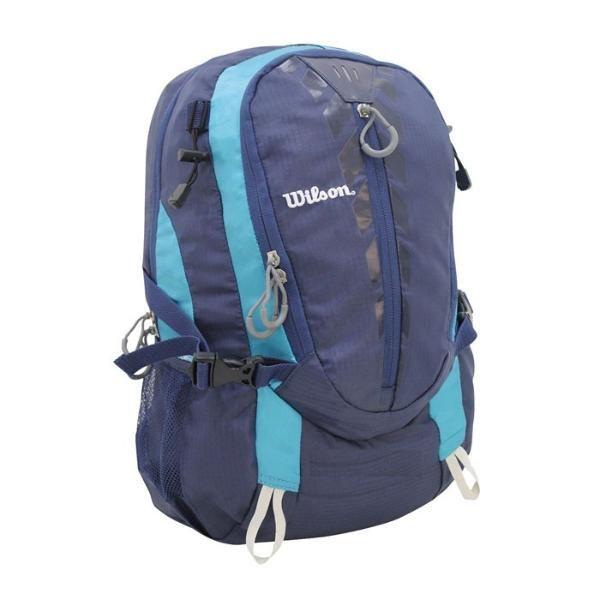 Mochila Esportiva Preto/azul Wilson - Wtix13352b