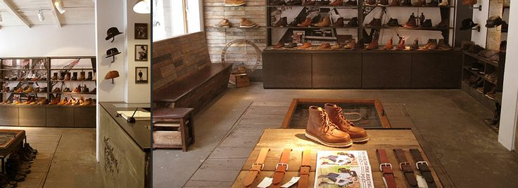 Red Wing Shoe Store - Shop Details