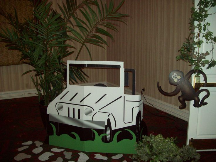cardboard box jeep idea for safari unit