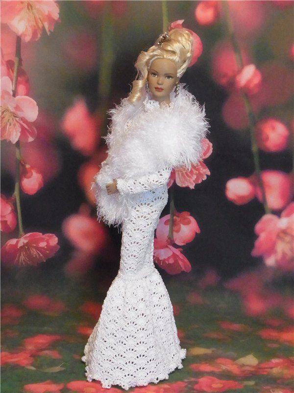 Тематические(вязаные) наряды для кукол Тоннер 16 / Одежда и обувь для кукол - своими руками и не только / Бэйбики. Куклы фото. Одежда для кукол