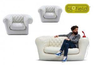 Hoe zit een Blofield opblaasbare stoel?Het mooiste design voor in je tuin | Het mooiste design voor in je tuin