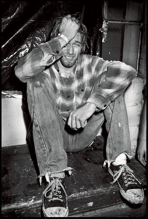 Black N White Girl Wallpaper Kurt Cobain By Ian Tilton Who Shot Rock Amp Roll