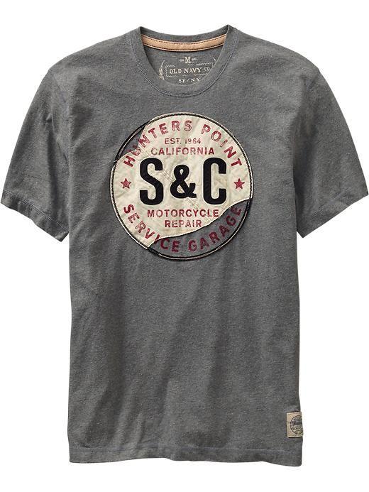 Never just an ordinary T-shirt will do.