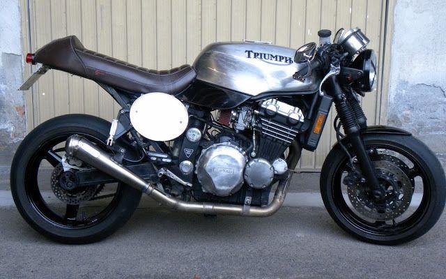 Nice custom Triumph Speed Triple