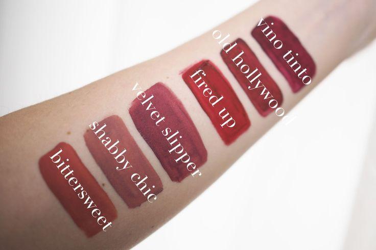 Sleek Matte Me Liquid Lipstick New Shades Swatches Liquid