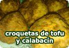 Croquetas de tofu y calabacín :: receta vegetariana