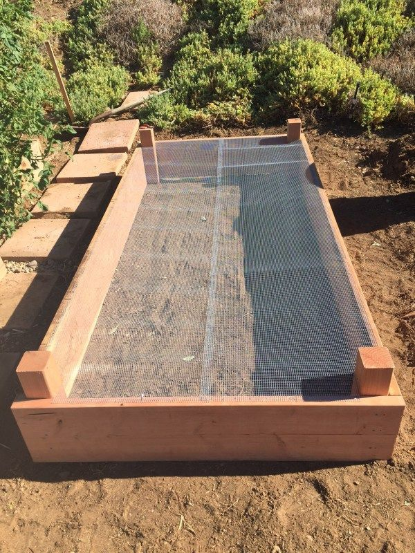 High Quality Raised Garden Bed with hardware cloth