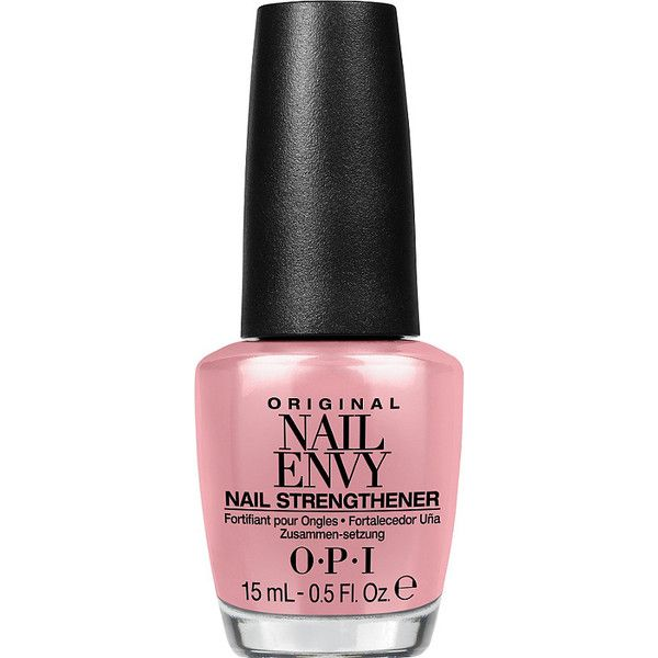 OPI Original Nail Envy Nail Strengthener Color (€16) ❤ liked on Polyvore featuring beauty products, nail care, nail polish, opi nail varnish, opi nail polish, opi nail lacquer, opi nail color and opi nail care