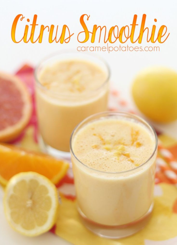 Citrus Smoothie- add some freshness to your day!  Healthy, fresh, and so delicious!