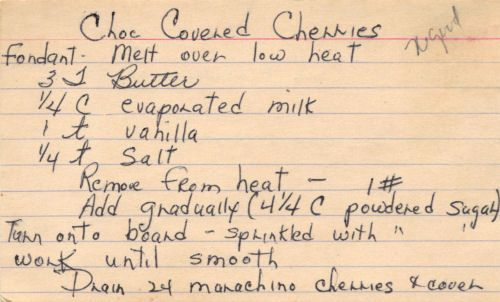 Blog with charming handwritten recipes, old clippings, vintage recipe booklets & promo pieces. They may be a bit tattered, yellowed with age and sometimes stained, but these recipes were saved, used & cherished for years.