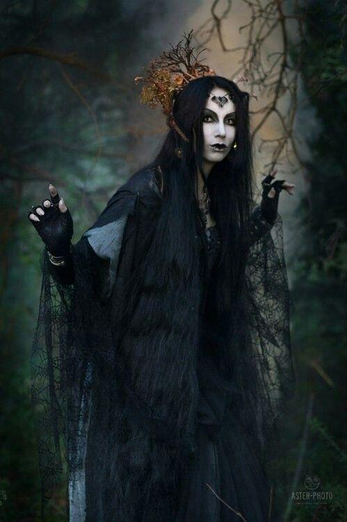 Dark mori girl/ witch girl