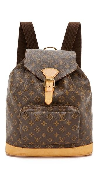 What Goes Around Comes Around Louis Vuitton Monogram Montsouris GM Bag (Previously Owned)