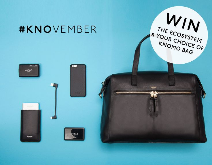 ➡ PIN TO WIN ⬅   To celebrate KNOvember, our favourite month of the year, we're giving away a KNOMO bag of your choice packed with our ecosystem of travel accessories   Good luck! ✌  (For further info please visit https://www.knomobags.com/uk/blog/knovember-competition - Competition ends Saturday 26th November 11.59PM GMT)  #KNOvember