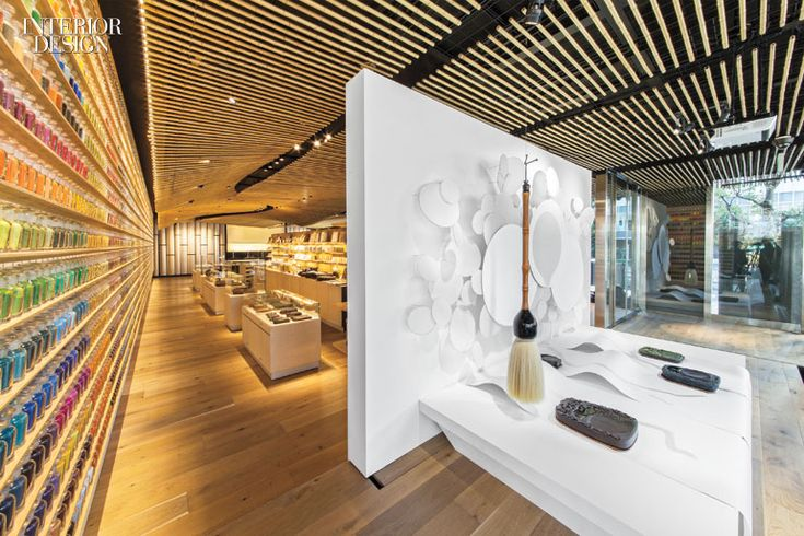 For the Pigment Store in Tokyo, Kengo Kuma Thought Like An Artist