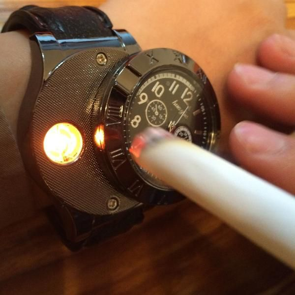 Men's Windproof Flameless Fire Starter Watch - OPC Exclusive
