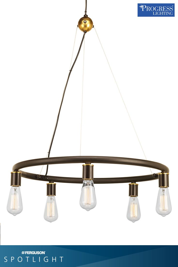 Chandelier With Natural Brass Accents And Steel Cables Can Be Mounted The Lamp Facing Up Or Down Would Make A Statement In Dining Room