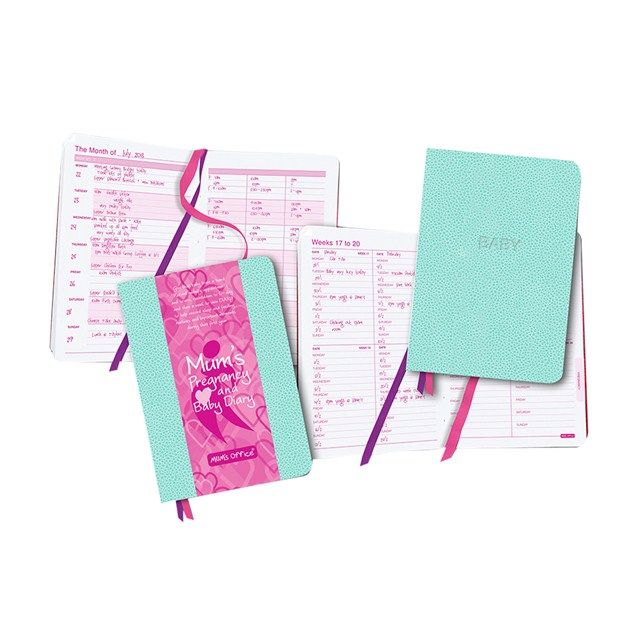Win 1 of 35 Pregnancy & Baby diaries from Mum's Office. We have 35 Mum's Office Pregnancy & Baby diaries to give away.  Open from 18/02/2014 to 04/04/2014