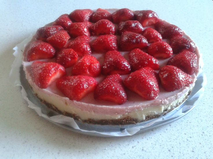 "Smink&Cake: Nyers epres ""sajttorta"" vegán"